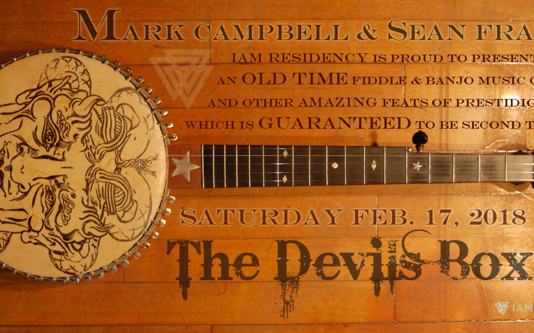 The Devil's Box – Florida sessions with Mark Campbell and Sean Franco at IAM Residency